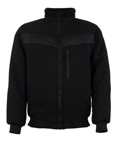 MASCOT® Pinto - zwart - Gebreid jack met verstevigingen