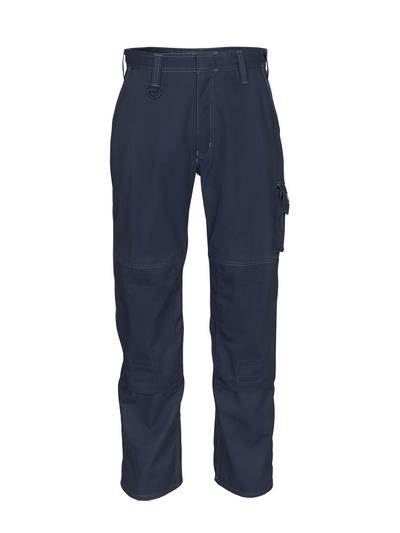 MASCOT® Pittsburgh - donkermarine - Werkbroek met kniezakken, lichtgewicht