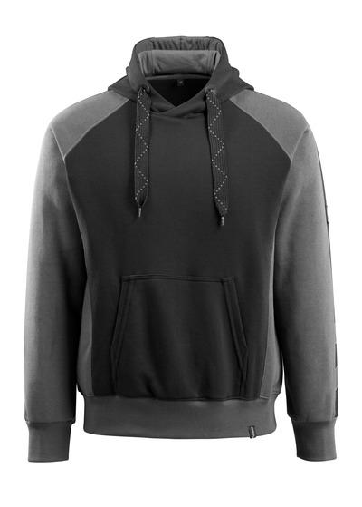 MASCOT® Regensburg - zwart/donkerantraciet - Hooded sweatshirt