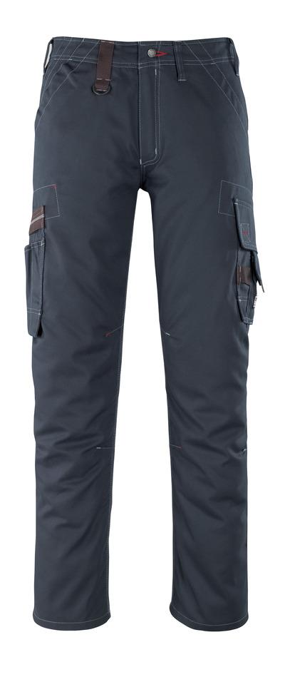 MASCOT® Rhodos - donkermarine - Broek met dijbeenzakken, lichtgewicht