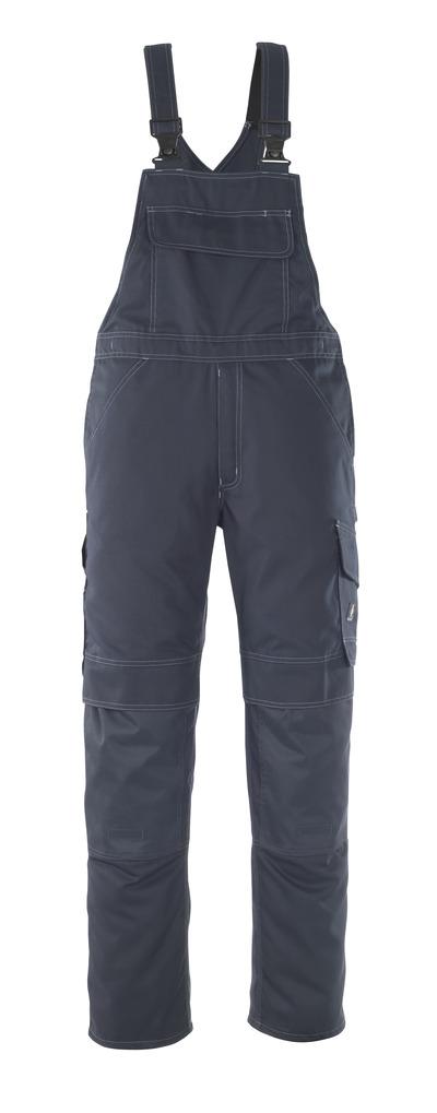 MASCOT® Richmond - donkermarine - Amerikaanse overall met kniezakken, lichtgewicht