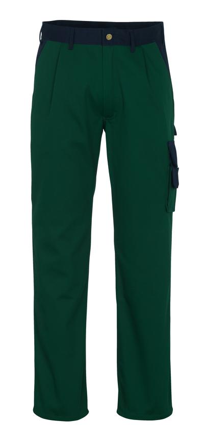 MASCOT® Salerno - groen/marine* - Broek, hoge slijtvastheid