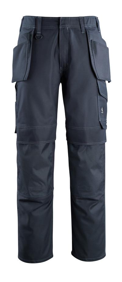 MASCOT® Springfield - donkermarine - Werkbroek met knie- en spijkerzakken, lichtgewicht