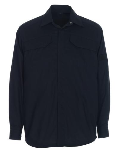 MASCOT® Ternitz - donkermarine - Overhemd, meervoudige bescherming, moderne pasvorm