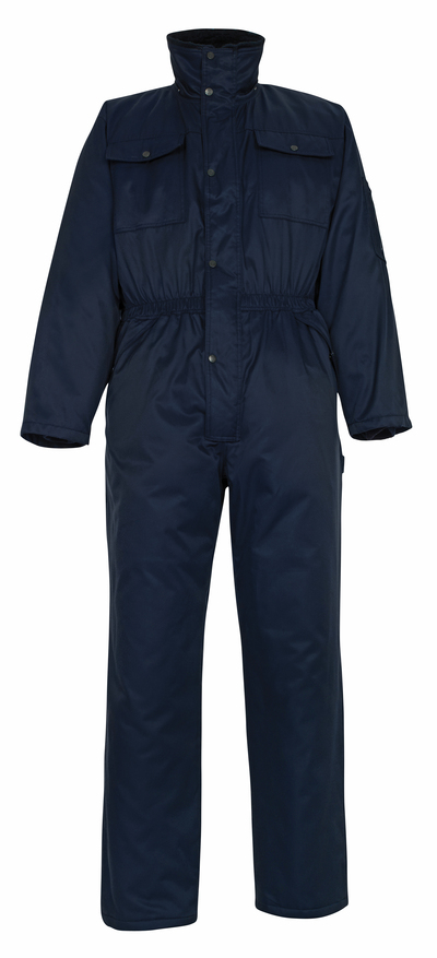 MASCOT® Thule - marine - Winteroverall met bontvoering, waterafstotend Bearnylon®