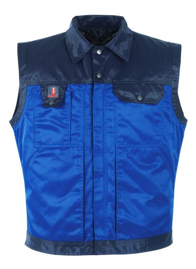 MASCOT® Trento - korenblauw/marine - Winterbodywarmer met uitneembaar gewatteerd vest, waterafstotend