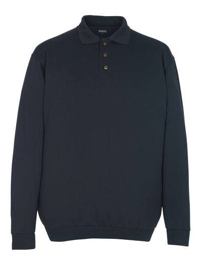 MASCOT® Trinidad - donkermarine - Polosweatshirt, ruime pasvorm