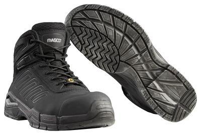 MASCOT® Trivor - zwart - Veiligheidslaarzen S3 met veters