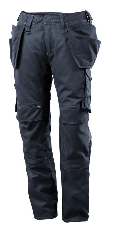 MASCOT® UNIQUE - donkermarine - Broek met CORDURA®-knie- en spijkerzakken, lichtgewicht