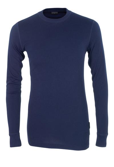 MASCOT® Uppsala - marine - Functioneel hemd, vochtregulerend, isolerend