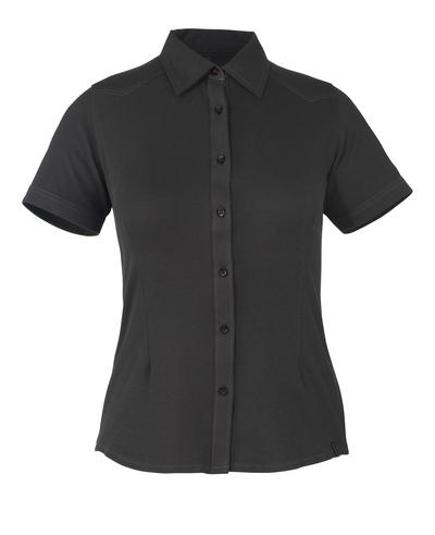 MASCOT® Vatio - zwart* - Overhemd, met korte mouwen