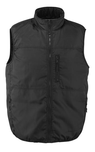 MASCOT® Vilada - zwart - Bodywarmer, gewatteerd
