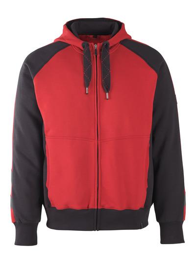 MASCOT® Wiesbaden - rood/zwart* - Hooded sweatshirt