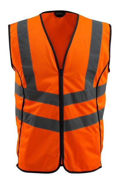 MASCOT® Wingate - hi-vis oranje - Veiligheidshesje met rits, klasse 2