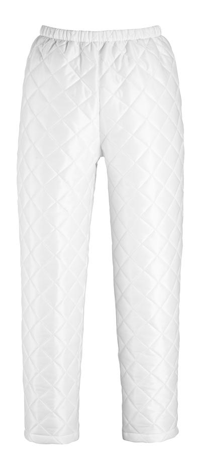 MASCOT® Winnipeg - wit - Thermobroek, verstelbaar aan de voeten