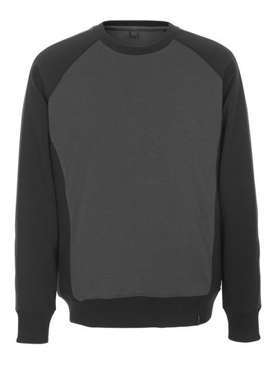 MASCOT® Witten - donkerantraciet/zwart - Sweatshirt, moderne pasvorm